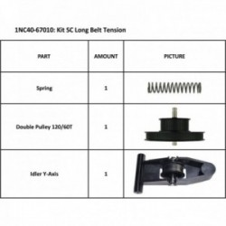 KIT LONG BELT TENSION ASSY