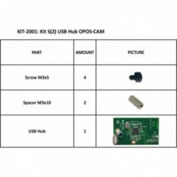 KIT S2 USB HUB OPOS-CAM