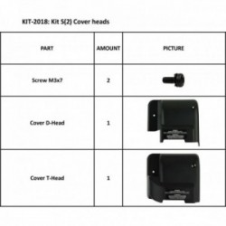 KIT S2 COVER HEADS