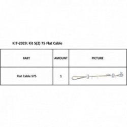 KIT S2 75 FLATCABLE
