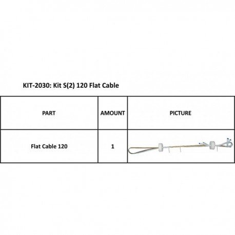 KIT S2 120 FLATCABLE