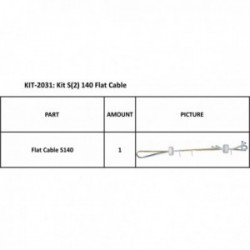 KIT S2 140 FLATCABLE