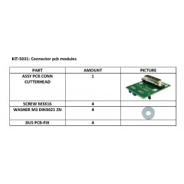 KIT-5031 Placa módulo tangencial Fseries