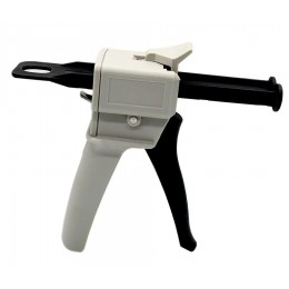 Bicomponent dispenser gun