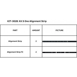 KIT S ONE ALIGNMENT STRIP