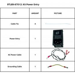 KIT POWER ENTRY