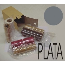 Pack resina plata brillo 120 m. + chip nº 10 - uso interior