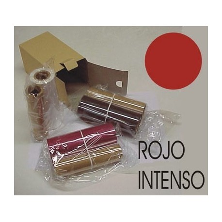 Pack resina rojo intenso 120 m. + chip nº 21