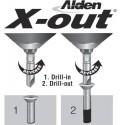 X-out juego de 3 extractores de tornillos