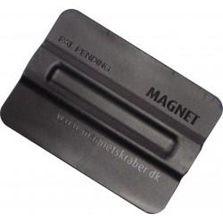 Rodo de nylon com inserções magnéticas