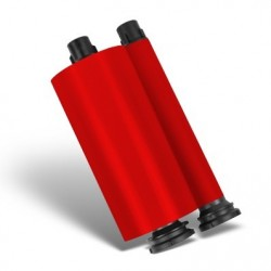 Red Resin Ribbon - 350m Roll Refill