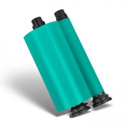 Hot Turquoise Resin Ribbon - 350m Roll Refill