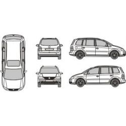 Modèle unique pour véhicule 5 vues